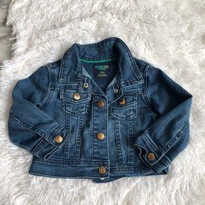 Genuine kids toddler jean jacket